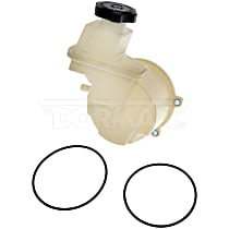Power Steering Reservoir - White, Direct Fit, Sold individually