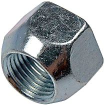 Dorman AutoGrade 611-027.1 Conical Lug Nut - Zinc, Steel, Open End, 1/2-20 in. Thread Direct Fit, Sold individually