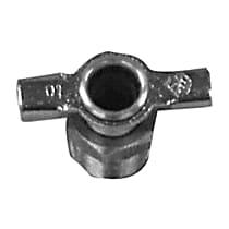61102 Radiator Drain Plug - Brass, Direct Fit