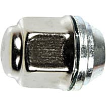 Dorman AutoGrade Conical Lug Nut - Natural, Steel, Dometop Capped Nut, M12-1.50 Direct Fit, Set of 10