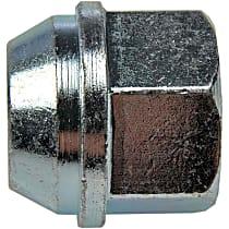 Dorman AutoGrade Conical Lug Nut - Chrome, Steel, Bulge, M12-1.50 Direct Fit, Set of 10