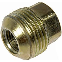 Dorman AutoGrade Conical Lug Nut - Zinc-Plated, Steel, Bulge, M14-1.50 Direct Fit, Sold individually