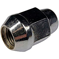 Dorman AutoGrade Conical Lug Nut - Chrome, Steel, Acorn, M14-1.50 Direct Fit, Sold individually