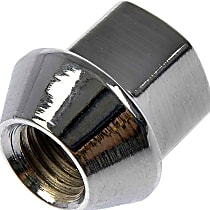 Dorman AutoGrade Conical Lug Nut - Zinc, Steel, Bulge, M12-1.50 Direct Fit, Sold individually