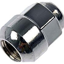 Dorman AutoGrade Radius Lug Nut - Chrome, Steel, Acorn, M12-1.50 Direct Fit, Sold individually