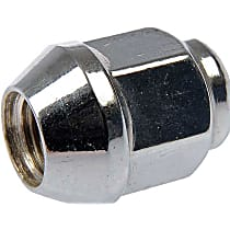 Dorman AutoGrade Lug Nut - Chrome, Steel, Acorn, M12-1.25 Direct Fit, Sold individually