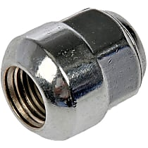 Dorman AutoGrade Ball Lug Nut - Chrome, Steel, Acorn, M14-1.5 Direct Fit, Set of 10