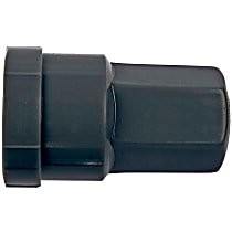611-610.1 Lug Nut Cover - Gray, Plastic, Direct Fit, Sold individually