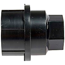 611-611.1 Lug Nut Cover - Black, Plastic, Direct Fit, Sold individually