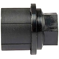 Lug Nut Cover - Black, Plastic, Direct Fit, Sold individually