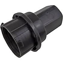Dorman 611-626 Lug Nut Cover - Gray, Plastic, Direct Fit, Set of 5