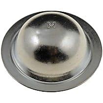 Dust Cap - Silver, Direct Fit, Set of 5