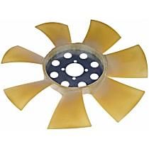 Fan Blade, Belt Driven Clutch Fan