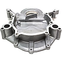 635-100 Timing Cover - Silver, Aluminum, 1-Piece, Direct Fit, Sold individually