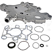 Timing Cover - Silver, Aluminum, Direct Fit, Kit