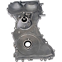 635-114 Timing Cover - Silver, Aluminum, 1-Piece, Direct Fit, Sold individually
