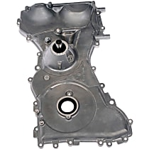Timing Cover - Silver, Aluminum, 1-Piece, Direct Fit, Sold individually
