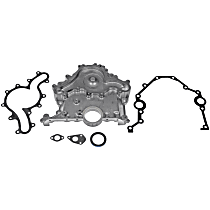Timing Cover - Aluminum, Direct Fit, Kit