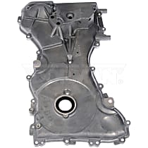Timing Cover - Silver, Aluminum, Direct Fit, Sold individually