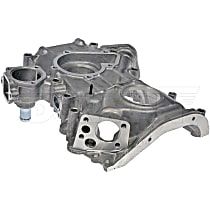 635-205 Timing Cover - Black, Aluminum, Direct Fit, Sold individually