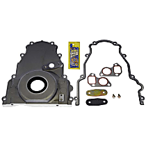 Timing Cover - Aluminum, 1-Piece, Direct Fit, Sold individually