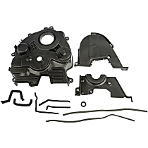 Timing Cover - Plastic, Direct Fit, Sold individually