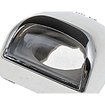 License Plate Light Lens - Direct Fit, Sold individually