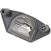 68167 License Plate Light Lens - Direct Fit, Sold individually