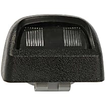 68168 License Plate Light Lens - Direct Fit, Sold individually