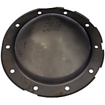 697-700 Differential Cover - Black, Steel, Direct Fit, Sold individually