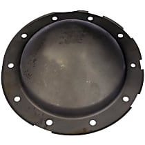 Differential Cover - Black, Steel, Direct Fit, Sold individually