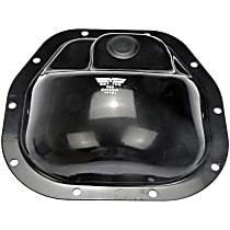 697-708 Differential Cover - Black, Steel, Direct Fit, Sold individually