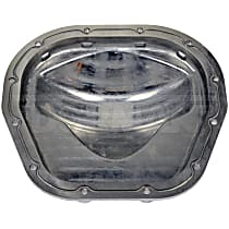 697-725 Differential Cover - Natural, Aluminum, Direct Fit, Sold individually
