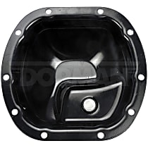 Dorman 697-726 Differential Cover - Black, Steel, Direct Fit, Sold individually