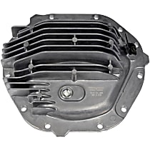 Dorman 697-817 Differential Cover - Black, Aluminum, Direct Fit, Sold individually