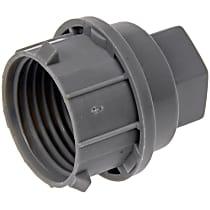 Dorman 711-023 Lug Nut Cover - Gray, Plastic, Direct Fit, Set of 5