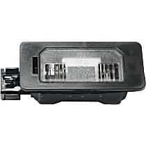 Replacement RB73290001 License Plate Light - Clear, Plastic, Direct Fit, Sold individually