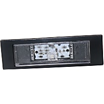Replacement RB73290004 License Plate Light - Clear, Plastic, Direct Fit, Sold individually