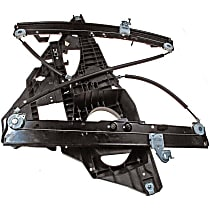 740-178 Front, Driver Side Power Window Regulator, Without Motor