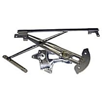 Front, Driver Side Power Window Regulator, Without Motor - Hatchback