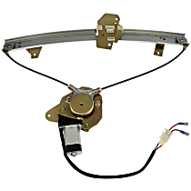 Front, Passenger Side Power Window Regulator, With Motor - Hatchback