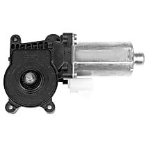 Rear, Driver Side Window Motor, New