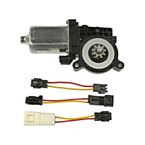 Window Motor, New Front or Rear, Driver Side