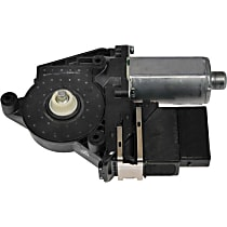 Driver Side Quarter Window Motor, New