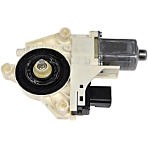 Front, Driver Side Window Motor, New