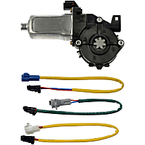 Window Motor, New Front or Rear, Passenger Side
