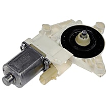 Front or Rear, Passenger Side Window Motor, New