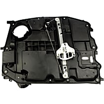 Front, Passenger Side Power Window Regulator, With Motor