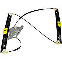 752-354 Front, Driver Side Power Window Regulator, Without Motor
