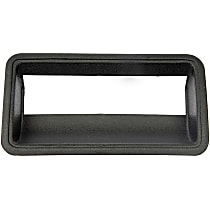 76105 Tailgate Handle Bezel, Smooth Black